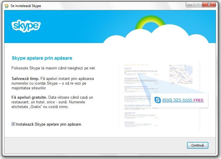 Creare cont Skype