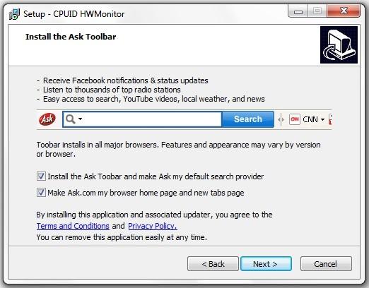 Cum se instaleaza CPUID HWMonitor