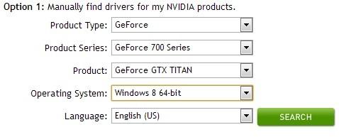 Cum actualizez driverul placii video de la Nvidia