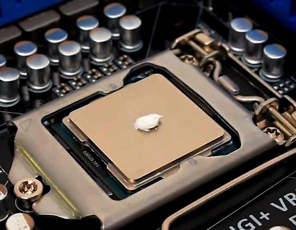 Cum aplic pasta termica pe procesor