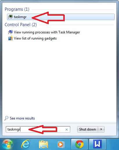 Cum pornesc Task Manager