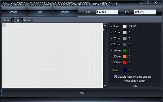 Verifica hard disk-ul cu ajutorul programului HDDScan