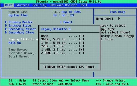 Configurarea BIOS-ului pentru a instala Windows
