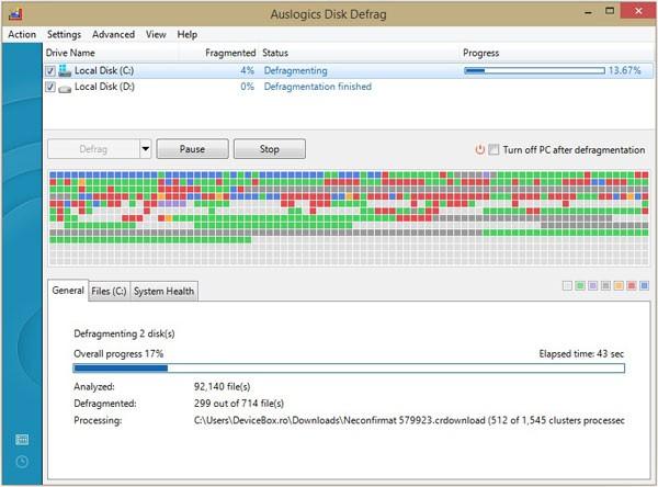 Defragmentarea Hard Disk-ului - cum se defragmenteaza corect Hard Disk-ul