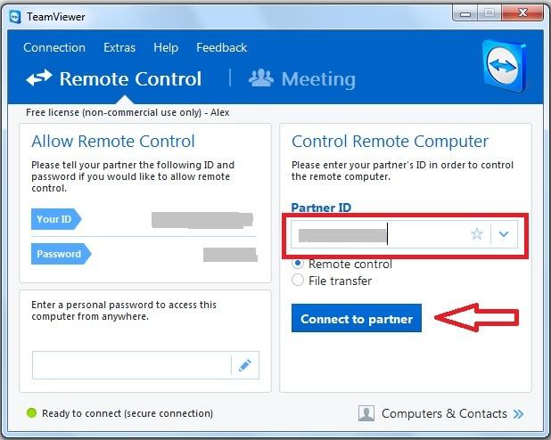 Cum ma conectez la alt calculator prin Internet