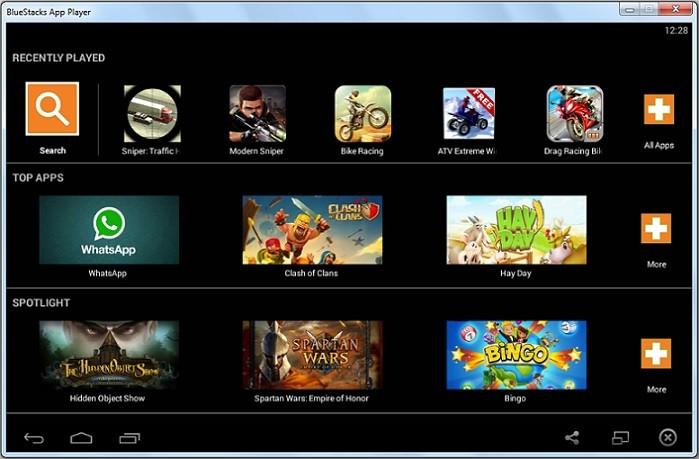 5 metode de a rula jocuri si aplicatii Android pe Windows