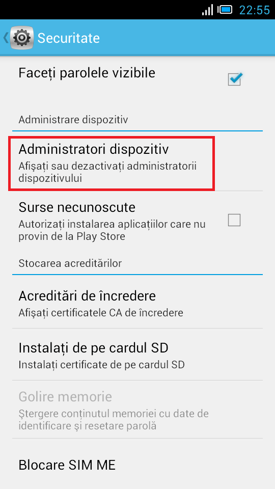 Cum gasesc telefonul Android pierdut sau furat si sterg date daca este necesar