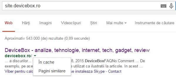 Cum pot intra pe site, daca accesul este blocat