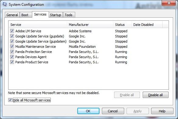 Cum scapi de aplicatiile care pornesc o data cu Windows-ul