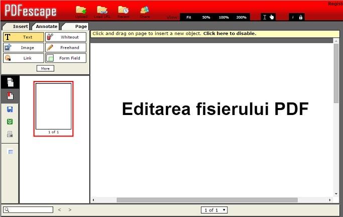 Cum editez fisierul PDF