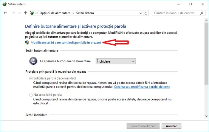 Cum activez sau dezactivez hibernarea in Windows 10