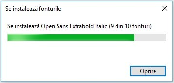Cum instalez fonturi noi in Windows