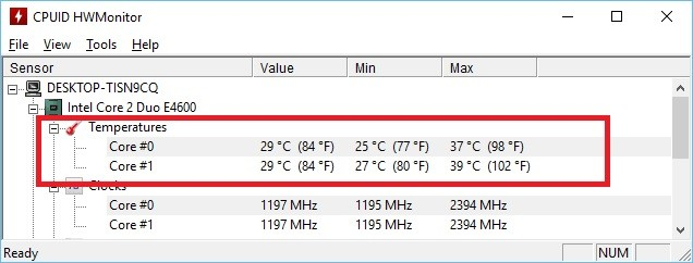 Cum pot afla temperatura procesorului in windows 10