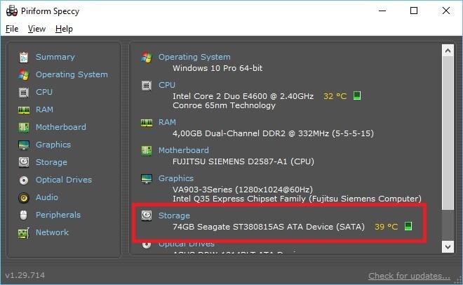 Care este temperatura normala a unui hard disk
