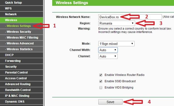 Cum se configureaza corect / optimizeaza routerul Tp-link TL-WR841N