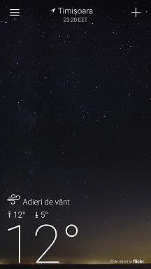 Cele mai bune apicatii meteo din Google Play