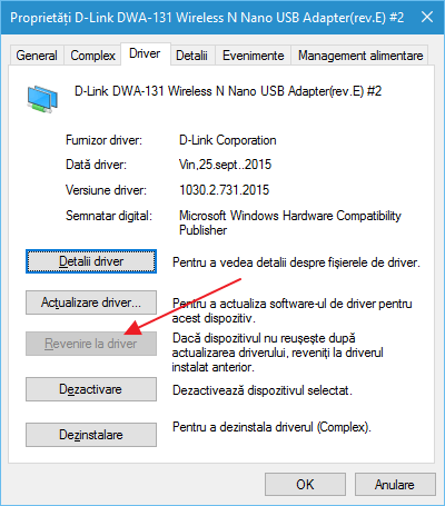 Cum distribui Internet prin Wi-Fi de pe laptop cu Windows 10