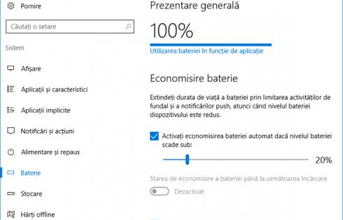 Bateria laptopului se descarca foarte repede – ce sa fac?