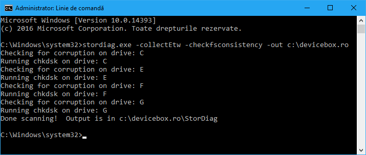 Verifica Hard Disk-ul de erori in Windows