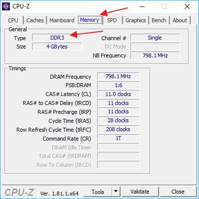 Cum pot afla care este memoria RAM: DDR, DDR2, DDR3 sau DDR4