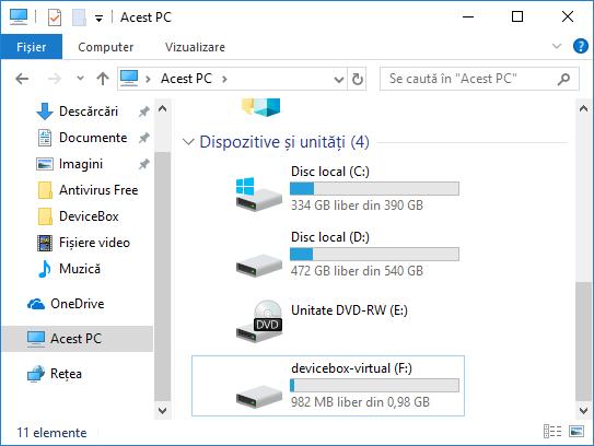 Crearea unui hard disk virtual in Windows 10, 8.1 si Windows 7