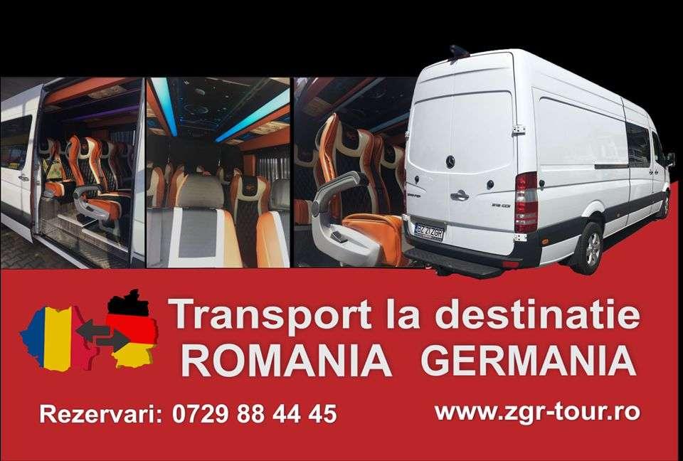ZGR ofera servicii de transport auto pe platforma din Germania in Romania