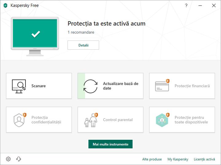 Antivirus gratuit Kaskpersky