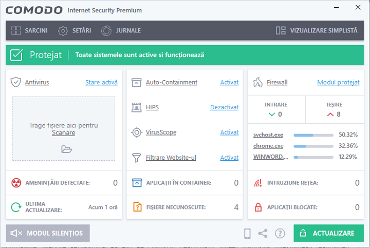 Antivirus Comodo Internet Security Premium