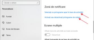 A disparut iconita bateriei pe laptop Windows 10