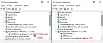 Cum se activeaza modul AHCI in Windows 10