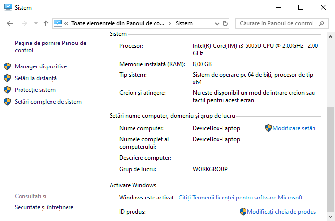 Windows 10 activat