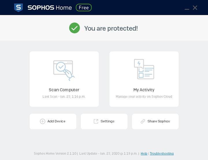 Cea mai buna protectie impotriva amenintarilor zero-day: Sophos Home