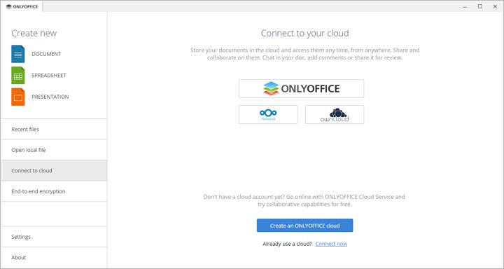 Office gratuit Onlyoffice