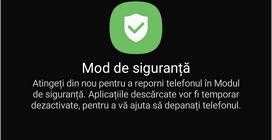 Confirma repornirea Android in mod de siguranta