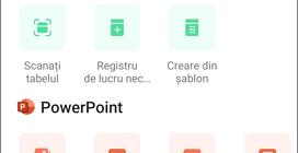 Crearea documentelor in Microsoft Office pe Android