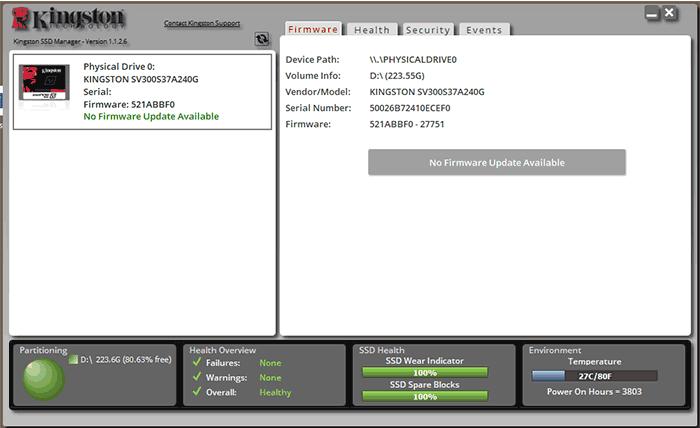 Actualizeaza firmware-ul SSD
